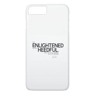 QUOTES: Sun Tzu: Enlightened ruler iPhone 8 Plus/7 Plus Case
