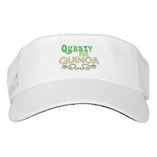 Qurazy for Quinoa © - Funny Quinoa Slogan Visor