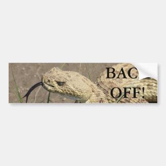 R0008 Prairie Rattlesnake Bumper Sticker