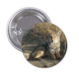 R0019 Coyote 1 Inch Round Button
