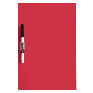 R06 Renewed Brick Red Color Dry Erase Board