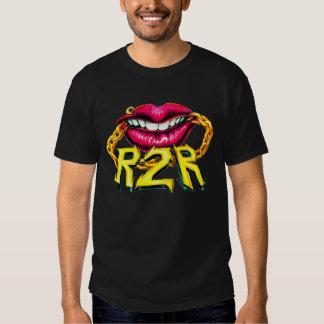 R2R Female Lips with Chain T-shirt