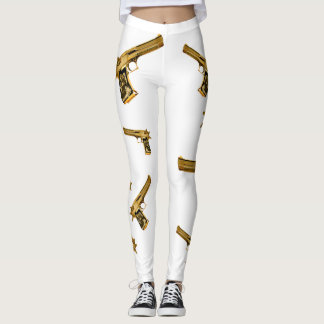 R2R Gold Gun Leggings