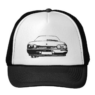 r32 skyline trucker hat