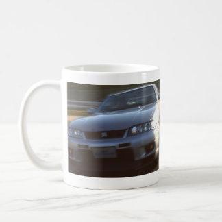 R33 GT-R ON Fuji International Speedway old course Coffee Mug