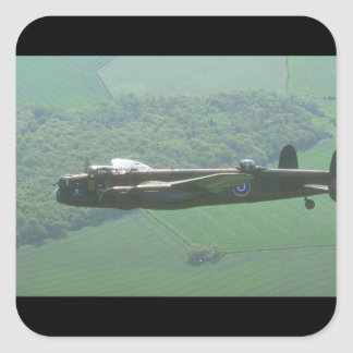 "R.A.F. ""Battle of Britain_Military Aircraft Square Sticker"
