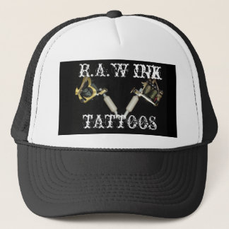 R.A.W INK (REAL ART WORK) HAT