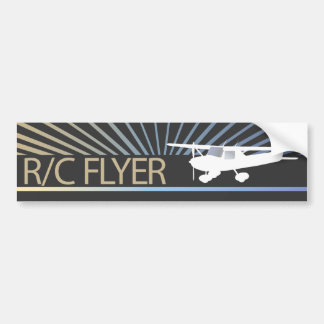 R/C Flyer Bumper Sticker