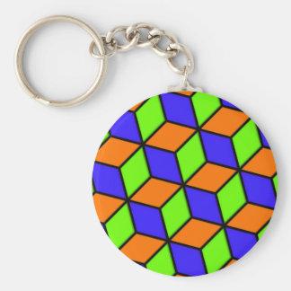 R Cube Look Keychain