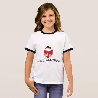 R.E.A.D. University Girl's Ringer T-Shirt
