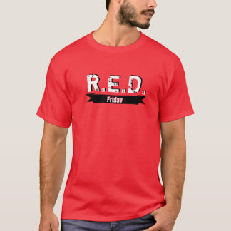 R.E.D. Friday Remember Everyone Deployed T-Shirt
