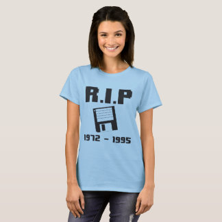 R.I.P Floppy 1972-1995 T-Shirt