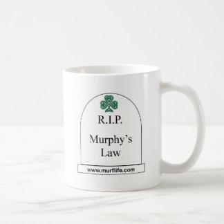 R.I.P. Murphy's Law Coffee Mug