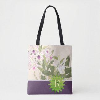 R Initial Tote Bag