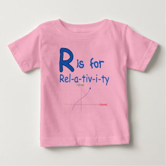 R Is For Relativity Baby T-Shirt