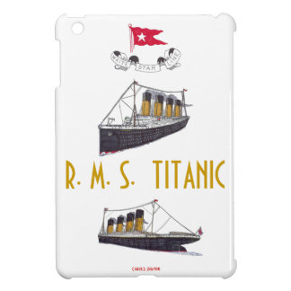 R.M.S. Titanic iPad mini case