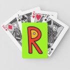 R Monster Bicycle Playing Cards