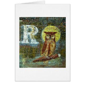 R OWL CARD