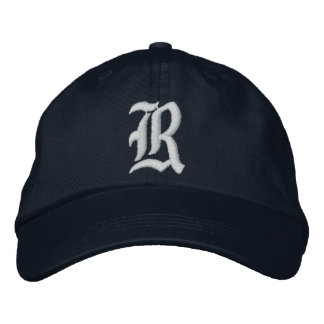 """""""R"""" Personalized Adjustable Hat"""