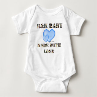 R&R Baby Made with Love Baby Bodysuit