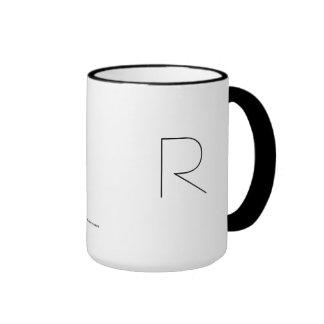 R THE MINIMALIST VIEW COFFEE MUG