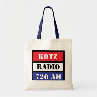 R W B KOTZ RADIO TOTE BAG