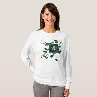 R.W.BURN BADGE Ladies Long Sleeve T-Shirt