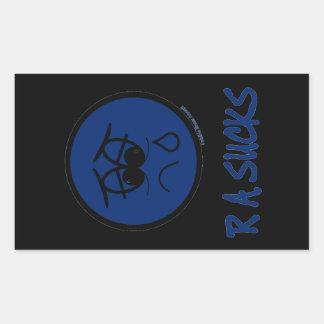 RA Sucks Sticker