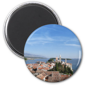 Rab island and town magnet