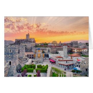 Rabati Castle Card