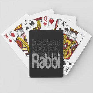 Rabbi Extraordinaire Playing Cards