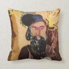 Rabbi Shimon Bar Yochai Kabbalah Throw Pillow