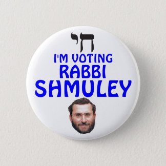 Rabbi Shmuley Boteach for Congress 2 Inch Round Button
