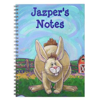 Rabbit Animal Parade writing stuff Notebook