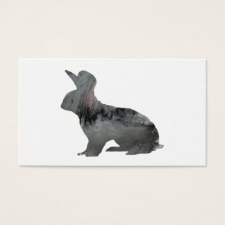 Rabbit art business card