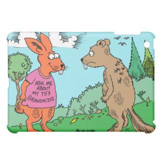 Rabbit | Beaver | Grandchildren Cartoon  iPad Mini Case