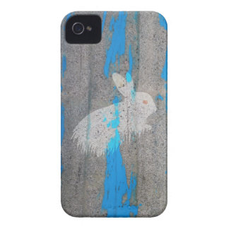 Rabbit bunny graffiti iPhone 4 cases
