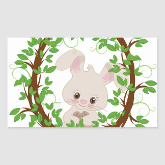 Rabbit , bunny, WOODLAND-CRITTERS