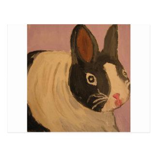 rabbit by eric ginsburg postcard