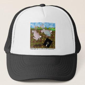 Rabbit Cartoon 8724 Trucker Hat