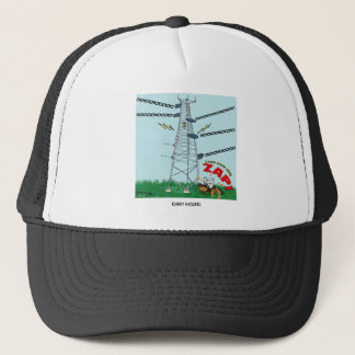 Rabbit Cartoon 9191 Trucker Hat