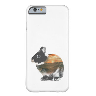 Rabbit Double Exposure Barely There iPhone 6 Case