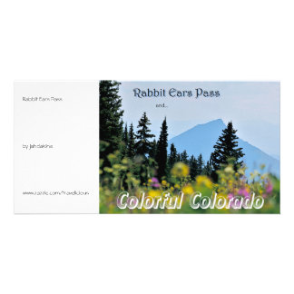 Rabbit Ears Pass - Vintage Style Picture Card