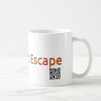 Rabbit Escape mug (white)
