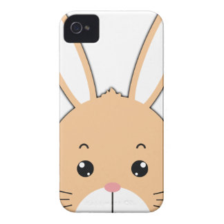 Rabbit face iPhone 4 cases