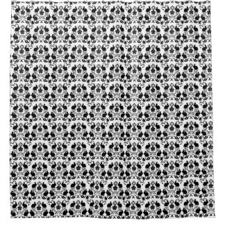 Rabbit & Flowers Damask Pattern