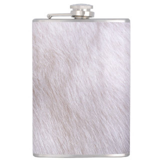 RABBIT FUR FLASK