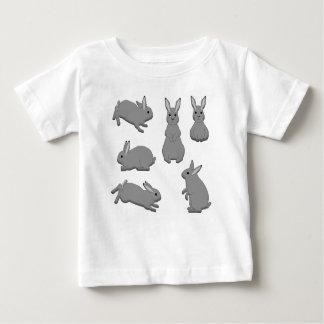 Rabbit grey baby T-Shirt