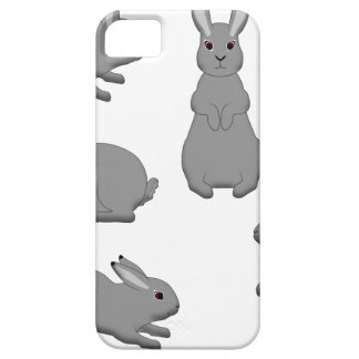 Rabbit grey case for the iPhone 5