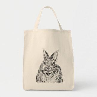 Rabbit grocery bag